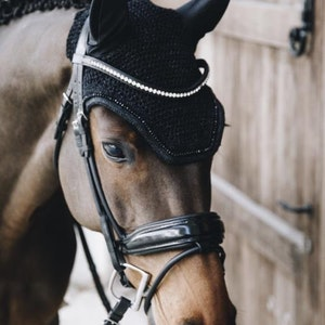 Kentucky Ear Bonnet Wellington Glitter