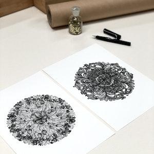 A4 'Abundance Plus' Set of two Limited Edition Prints
