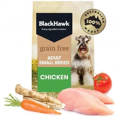 Black Hawk Grain Free Small Breed Adult Chicken Dry Dog Food