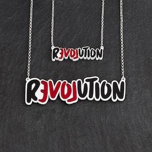 LOVE REVOLUTION I Statement Necklace