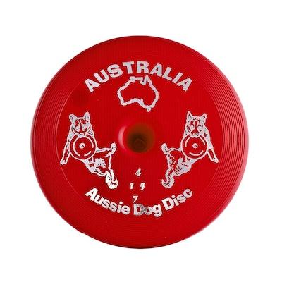 Aussie Dog Disc Hard  Red