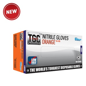 TGC Nitrile HD Disposable Gloves