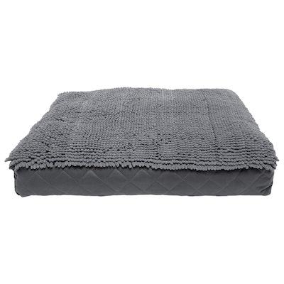 Dog Gone Smart Rectangle Dog Bed Cushion Grey - 3 Sizes