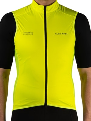 Pedal Mafia Mens Pro Vest - Fluro Yellow