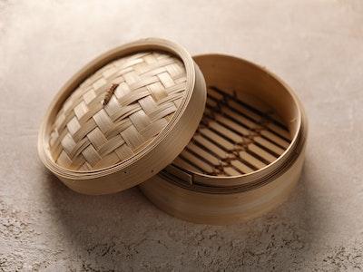Dumpling Basket & Lid