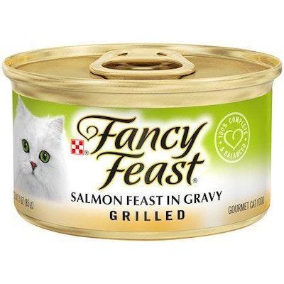 Fancy Feast Grilled Salmon Feast In Gravy