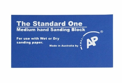 Rubbing Block The Standard One Blue