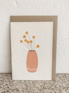 BILLY BUTTONS | SEEDED CARD