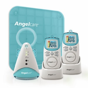Angelcare AC402P Sound & Movement Monitor with 2 Parent Units