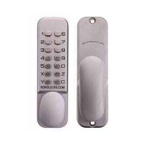 Borg Locks BL2000SC Digital Lock with 10 Digit Keypad Finished in Satin Chrome