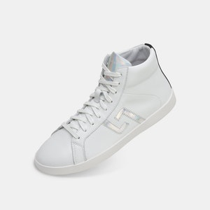 Rollie Nation Prime High Top White Iridescent
