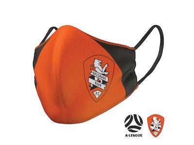 Brisbane Roar Face Mask