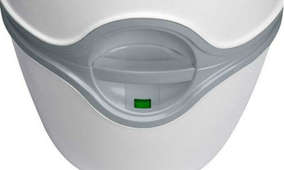 New dinkum camping dunny Porta Potti Excellence marries function with original design