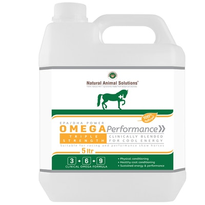 Natural Animal Solutions Nas Omega Performance Horse Supplement 5L
