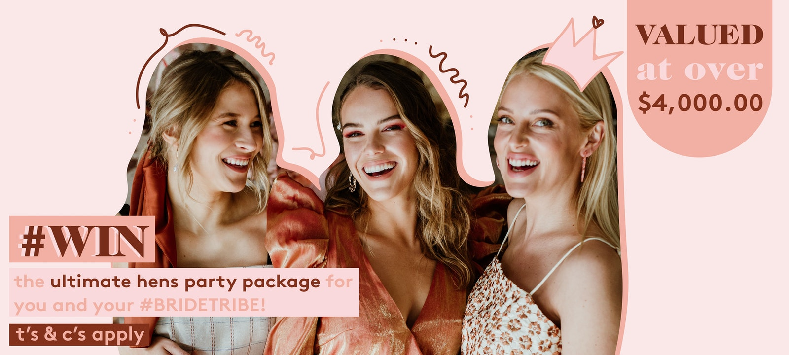 WIN THE ULTIMATE HEN'S PARTY PACKAGE FOR YOU AND BRIDE TRIBE | LENZO