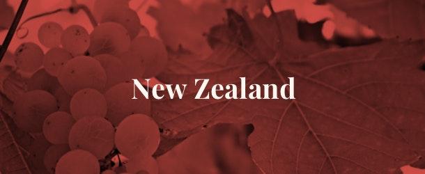 New Zealand wine regions