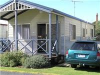 Cabin and GSA Magna Ocean Grange Holiday Park.