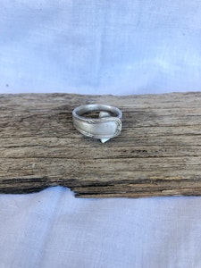 """Silver """"Soph"""" Ring (Size X)"""