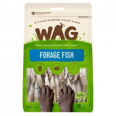 WAG Forage Fish Dog Treats 200G