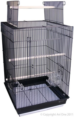 Cage 400AOP Square Black Avi One