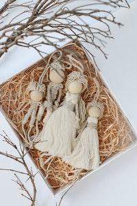 Sculptures of the Earth Macramé dolls (Girl or Boy)