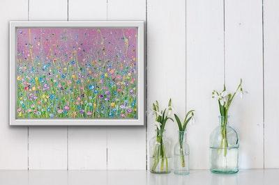Fiona Adams Artwork Loving Kindness - Original painting