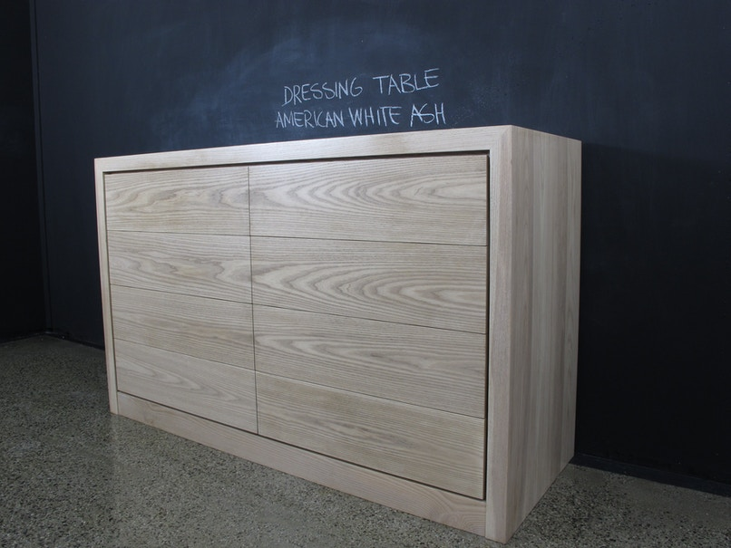 christian cole furniture american white ash bedroom console bedside tables for sale in coburg. Black Bedroom Furniture Sets. Home Design Ideas