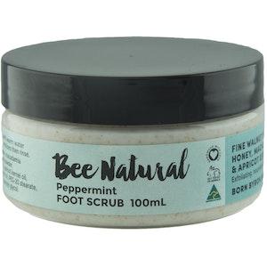Bee Natural Peppermint SCRUB 100mL