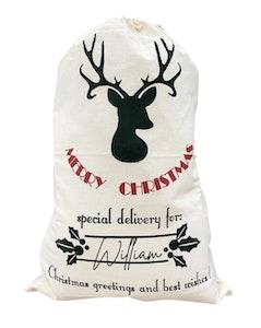Merry Christmas Santa Sack - Fancy Font