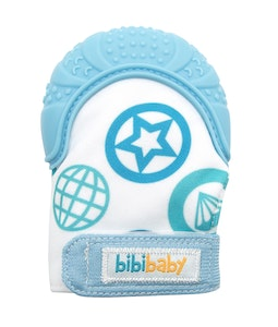 BibiLand BibiBaby Teething Mitts - Blue