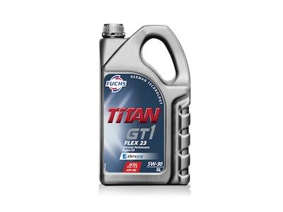 Fuchs Titan GT1 Flex 23 SAE 5W-30 5 Litre Pack Premium Performance Engine Oil