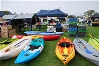 Tents and leisure equipment are  part of the South  Coast Expo