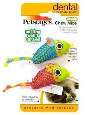 Petstages Catnip Chew Mice