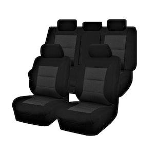 Premium Car Seat Covers For Honda Civic 9Th Gen Series Iii 2012-2016 Sedan | Black