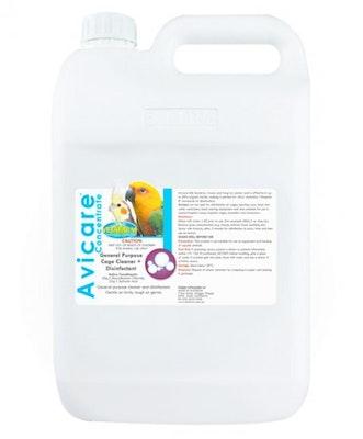 Vetafarm Avicare Concentrate Bird Cage Cleaner & Disinfectant 25L