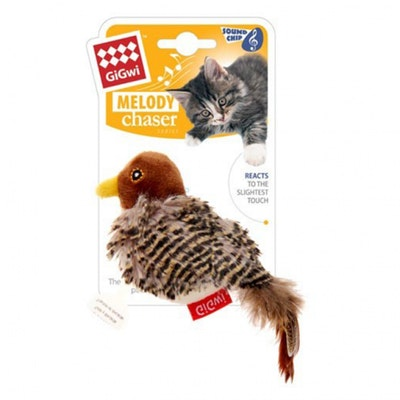 GIGWI Melody Chaser Bird Motion Active Cat Toy