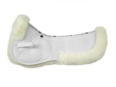 Kieffer Merino Fleece Half Pad White