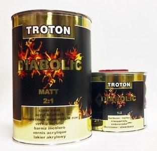 Troton Diabolic Matt 2:1 Clear Coat 1Lt Kit