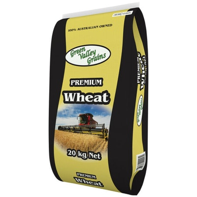 Green Valley Premium Wheat Cracked Animal Feed Supplement 20kg