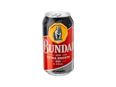 Bundaberg Extra Smooth Red Rum & Cola Can 375mL