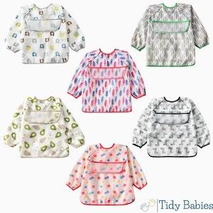 Tidy Babies  Toddler / Baby Long Sleeve Apron Smock Bib