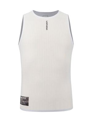Soomom Pro Lightweight Singlet Base Layer - White