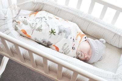 Bubba Bump Baby Safari Bamboo Muslin Wrap