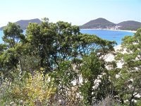 Blue water, Port Stephens