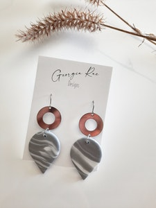 Grey Marble Hooks