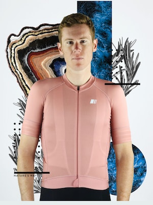 GSport Maillot Pro Team Coral Hombre