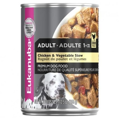 Eukanuba Adult Chicken Wet Dog Food 354G