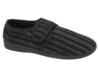 Boutique Medical Grosby Thurston Men's Slippers Indoor Outdoor Cord Moccasins Shoes