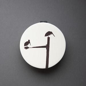 Pelican Circular Wall Vase