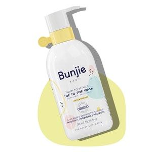Bunjie Born To Be Mild / Top To Toe Wash 300ml